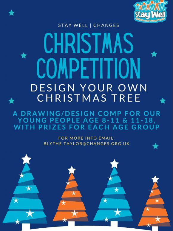 Stay Well Launch Christmas Tree Drawing Competition